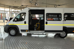 Transport commercial Van de lumière de relais de n de Citroà blanc « Photos stock