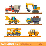 Transport  for construction Stock Photography