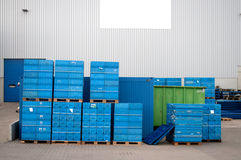 Transport Container Royalty Free Stock Images