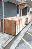 Transport Crates Stock Photo