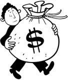 Transport d'argent Photographie stock libre de droits
