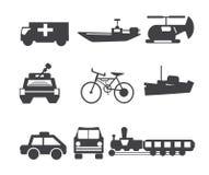 Transport d'icône illustration libre de droits