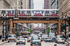 Transport dans la ville Photos libres de droits