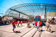 Transport dans la ville de Berne Photographie stock libre de droits