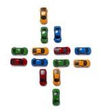 Transport de circulation de véhicules de jouet Photos libres de droits