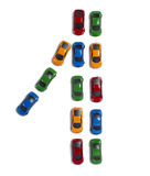 Transport de circulation de véhicules de jouet Photos stock