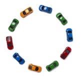 Transport de circulation de véhicules de jouet Image libre de droits