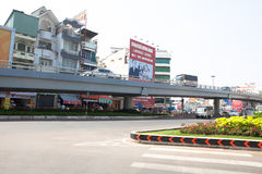 Transport de Ho Chi Minh City Area Image libre de droits