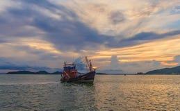 Transport de l'eau de bateaux Images libres de droits