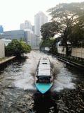 Transport de l'eau en Thaïlande Photo stock