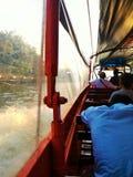 Transport de l'eau en Thaïlande Image libre de droits