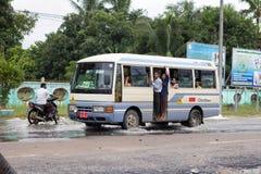 Transport de Myanmar image libre de droits