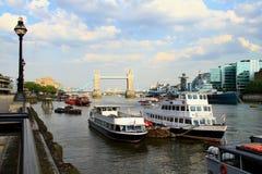 Transport de rivière Photo libre de droits