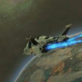 Transport de Shuttlestar Images libres de droits