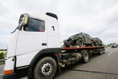 Transport de tigre de véhicule blindé Photo stock