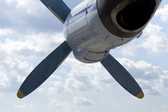 Transport de turbopropulseur Image stock