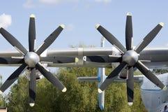 Transport de turbopropulseur Images stock