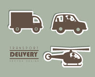 Transport delivery Royalty Free Stock Images