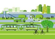 Transport in der Stadt Stockfotos