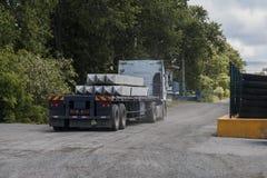 Transport des produits finis Photographie stock