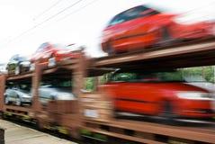 Transport des véhicules Photos libres de droits
