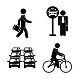 Transport design Royalty Free Stock Image