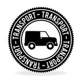Transport design over white background vector illustration Royalty Free Stock Image