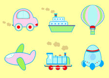 Transport drôle Images stock