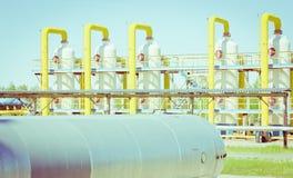 Transport du gaz Photo libre de droits