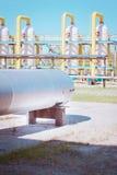 Transport du gaz Images libres de droits