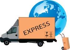 Transport durch LKW Lizenzfreie Stockbilder