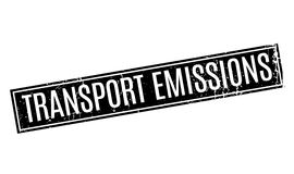 Transport Emissions rubber stamp Royalty Free Stock Image