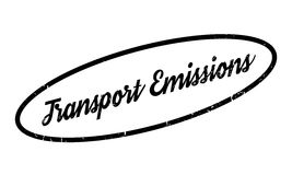 Transport Emissions rubber stamp Royalty Free Stock Photo