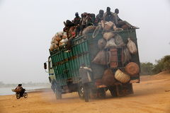 Transport en Afrique Photos stock