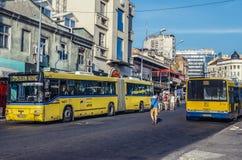 Transport en commun à Belgrade Photo libre de droits