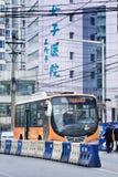 Transport en commun au centre de la ville de Chongqing, Chine Photo libre de droits