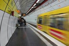 Transport en commun d'Essen Images libres de droits