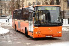 Transport en commun dans Karlstad Image stock