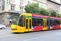 Transport en commun de Budapest Photo libre de droits
