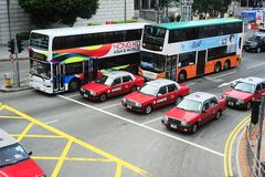 Transport en commun de Hong Kong Photographie stock