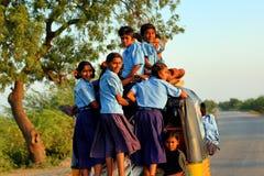 Transport en Inde Photographie stock libre de droits