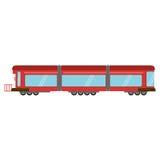transport för drevstångvagn Fotografering för Bildbyråer
