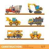 Transport för konstruktion Arkivbild