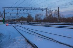 Transport ferroviaire photo stock