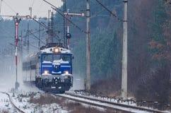 Transport ferroviaire Image libre de droits