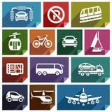 Transport flat icon-04 Stock Image