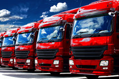 Transport fleet Stock Photos