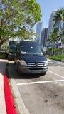 Transport garé Image libre de droits