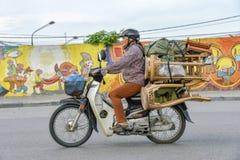 Transport in Hanoi, Vietnam Royalty Free Stock Image