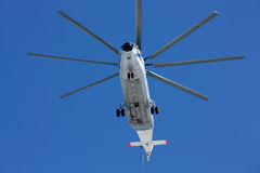 Transport helicopter Mi-26 Royalty Free Stock Photos